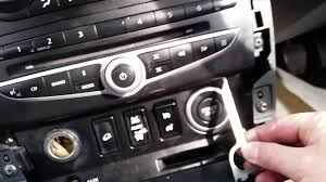 renault koleos 2009 renault koleos 2008 head unit cd changer removal youtube