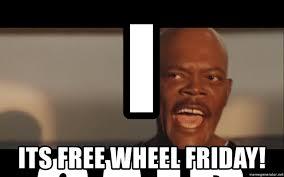 Shouting Meme - i said its free wheel friday samuel l jackson snakes on a plane
