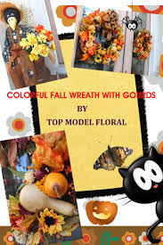Fall And Halloween Decorating Ideas Fall Wreath And Halloween Decoration Ideas For Your Front Porch