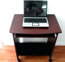 Small Laptop And Printer Desk Compact Laptop Desk Netup Me