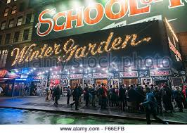 The Winter Garden Theater - winter garden theatre and of rock in the rain new york city
