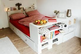 Schlafzimmer Bett Regal ᐅᐅ Palettenbett Selber Bauen Europaletten Bett Diy Anleitung