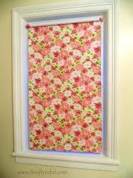 Diy Blinds Curtains Best 25 Homemade Roller Blinds Ideas On Pinterest Homemade
