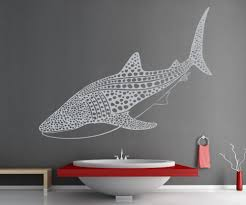 whale decals for cars animation animals whale wall decal nautical big safe harmless for kids shark whale wall decal illustration grey colors backgrounds modern products animation