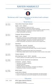 Examples Of Resumes Australia by Senior Advisor Resume Samples Visualcv Resume Samples Database