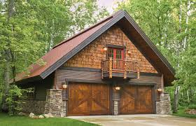 Pole Barn With Apartment Garage Door Pictures From Great Northern Door Stone Natural