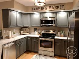farmhouse kitchen with oak cabinets classic cupboards paint 43 golden oak cabinets painted