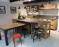 cuisine et bar cuisine de style industriel armoire de l île armoire de