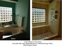 convert bathtub shower convert shower tub shower conversion kit