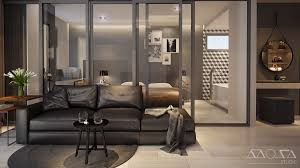 Sliding Glass Walls 3 Modern Studio Apartments With Glass Walled Bedrooms