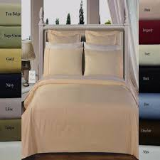 What Is The Highest Thread Count Egyptian Cotton Sheets 100 Percent Cotton Solid Duvet Covers Sets Luxury Linens 4 Less