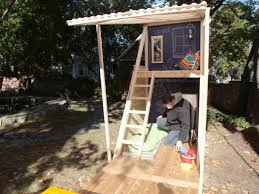 Backyard Fort Ideas 25 Unique Play Fort Ideas On Pinterest Tree House Swing Set