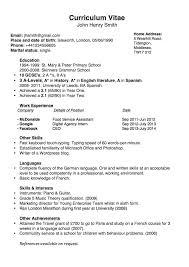 chronological resume sample format spanish resume template resume for your job application we found 70 images in spanish resume template gallery