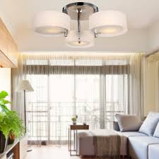 Ceiling Lights For Living Room by Lightinthebox Acrylic Chandelier With 3 Lights Chrome Finish