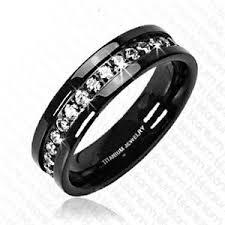 black wedding rings for men black men wedding bands from various metals men wedding bands