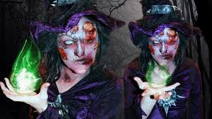 Sorceress Makeup For Halloween by Zombie Witch Makeup Tutorial Youtube