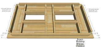 Free Plans For Wood Patio Furniture by Remodelaholic Building Plans Patio Table With Built In Drink