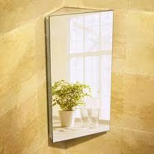 corner bathroom mirror bathroom how to choose bathroom mirror cabinet harmony for home