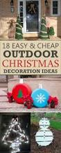 Large Outdoor Christmas Decorations by Simple Outdoor Christmas Decorations