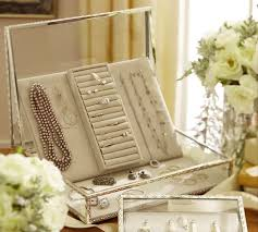 Pottery Barn Jewelry Stand Antique Silver Jewelry Boxes Pottery Barn