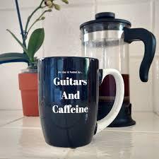 guitars and caffeine coffee mug design 1 u2014 guitars and caffeine