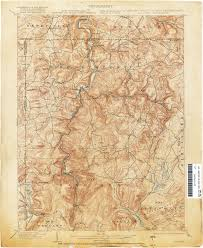 Road Map Of Pennsylvania by