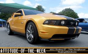 Black 2011 Mustang Gt Yellow Blaze 2011 Ford Mustang Gt Coupe Mustangattitude Com