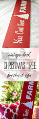 christmas tree sign stenciling christmas tree and craft