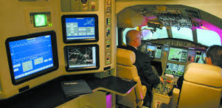 flightsafety teterboro fields falcon 900ex easy simulator
