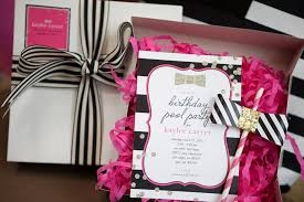kate spade inspired pool party with banner events