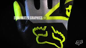 fox motocross gloves 2013 fox racing 360 machina motocross glove review youtube