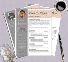 creative resume template cv template cover letter for ms