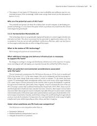 Tire Technician Resume Section 2 What Are The Main Characteristics Of Alternative Fuels