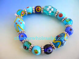 glass beaded bracelet images Handmade china glass bead jewelry supplied wholesale for importing jpg