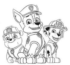 happy birthday paw patrol coloring page paw patrol coloring pages coloringpagesonly com