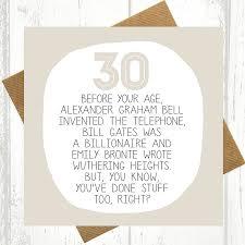 funny 30th birthday cards u2013 gangcraft net