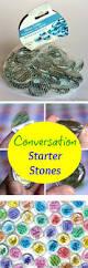 conversation starter stones u0026 free printable cut file craft