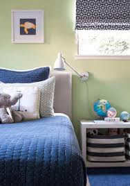 Blue And Green Bedroom Blue And Gray Boys Bedrooms Transitional Boy U0027s Room