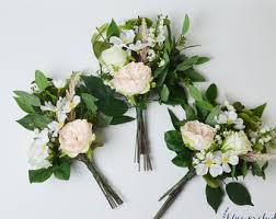Bridesmaid Flowers Bridesmaid Bouquet Silk Flowers Silk Wedding Bouquet Pink