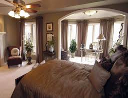 brown bedroom ideas white blue quilting bed sheet with white wooden headboard feat