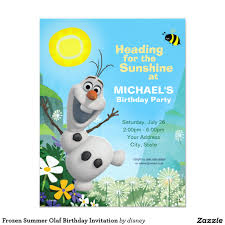 frozen summer olaf birthday invitation 4 25