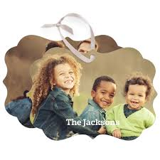 photo gallery rectangle personalized ornaments shutterfly