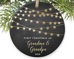 grandparent christmas ornaments christmas as grandparents rustic christmas ornament