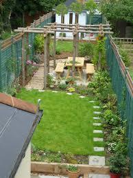 designs for narrow gardens simple garden design ideas long narrow