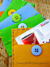 gift cards for kids sewing with kids sewing project for kids how to sew a gift card