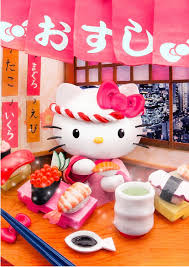 collectible kitty japan 3d postcards arrival