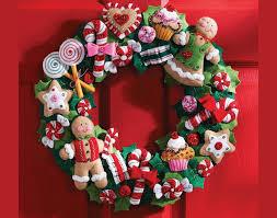 halloween wreath ideas to make felt applique cookies u0026 candy