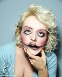 halloween porcelain doll makeup doll face makeup face makeup ideas