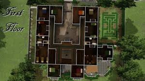 Bewitched House Floor Plan by Mod The Sims Hattershall Manor