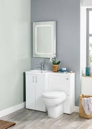 Wickes Bathroom Furniture Wickes White L Shaped Vanity Unit Basin Rh Vanity Units